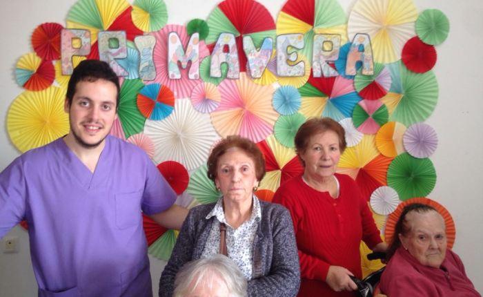 Grupo Reifs |Decoración primaveral en nuestra residencia deCazalilla